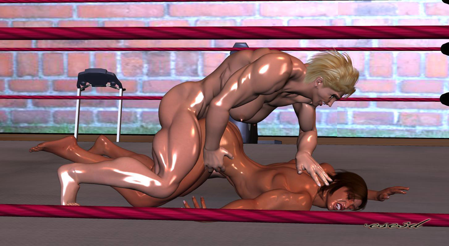 Muscle catfight